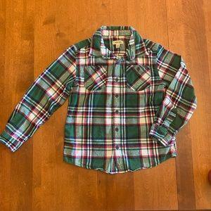 Boy's Plaid Flannel
